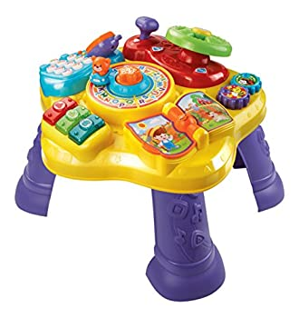 VTech Magic Star Learning Table  Frustration Free Packaging  Yellow