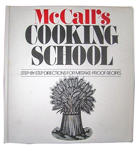 McCall's Cooking School COMPLETE Three (3) Volume 3-Ring Binders Cookbook Set