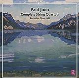 Paul Juon : Intégrale des quatuors à cordes. Quatuor Sarastro.