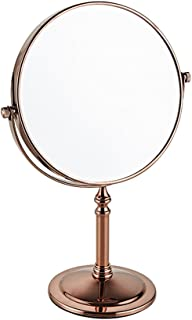 NYDZDM Cosmetic Mirror/Beauty Mirror/Shaving Mirror / 6 inch / 8 inch/European Desktop Double-Sided Magnifying Glass 1x / 3X / Bathroom Dressing Table Mirror