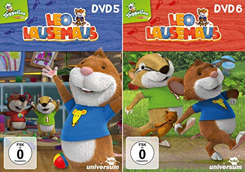 Leo Lausemaus - DVD 5+6 im Set - Deutsche Originalware [2 DVDs]