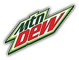valstick Mountain Dew American Soft Drink Car Bumper Sticker Decal, 6'' Longer Side
