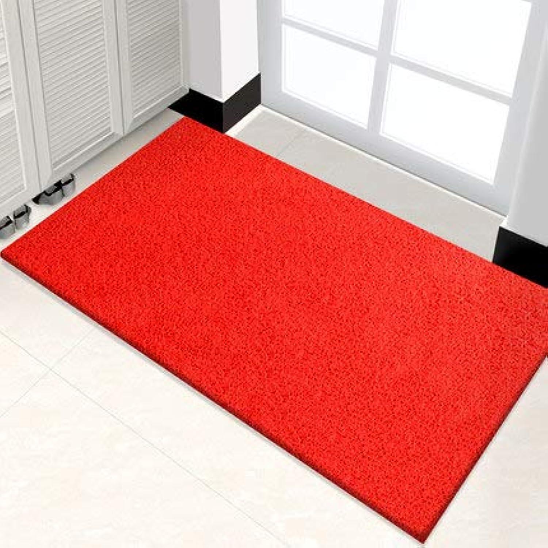 Easy to Clean Door Mat, Entrance Door Mat Interior Door Mat Non-Slip Door Mat-red 58x90cm(23x35inch)