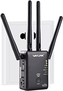 Wavlink AC1200 Dual Band Repeater WiFi Range Extender/Access Point/Router/Media Bridge with External Antenna and WPS 1200M...