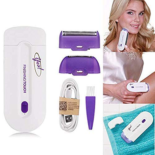 Yes! By Finishing Touch Hair Remover   Rechargeable Lithium Ion Battery