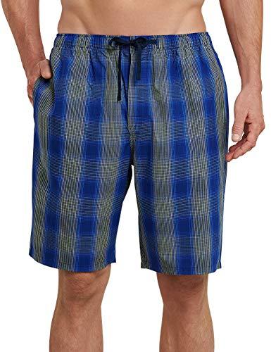 Schiesser Herren Mix & Relax Hose kurz' Schlafanzughose, Blau (Royal), Medium (Herstellergröße: 050)
