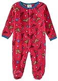 DC Comics - Calzado de Forro Polar para bebé y niñas - Multi Color - 6-9 Meses