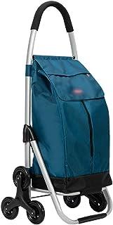 Chariot Courses Chariot De Magasinage Pliant, Chariot De Magasinage Domestique De Grande Capacité, Chariot Portable pour M...