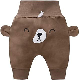 RONSHIN Baby Boys Girls Summer Cute Pattern Casual Loose Ninth Haren Pants