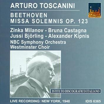Beethoven, L. Van: Missa Solemnis (Toscanini) (1940)