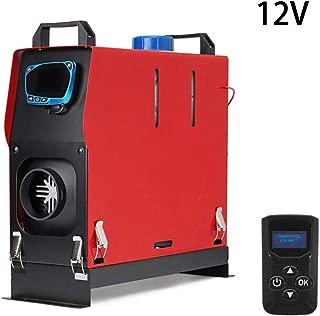 Camiones veh/ículos recreativos Calentador de veh/ículos con Control Remoto para Furgonetas remolques de autom/óviles Knowled 12V-24V 5KW Calentador de Aire Diesel