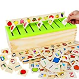 Wooden Montessori Toys for Toddlers Sorting Box Educational Toys Preschool Kindergarten Learning...