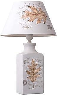 WYBFZTT-188 Nordic Style Moderne Minimaliste Romantique Chambre d'étude Céramique Décoration Tissu Abat Table de Chevet Lampe