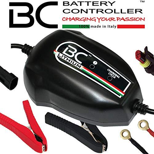 BC Battery Controller 700BCLP Caricabatteria e Mantenitore Intelligente per Batterie Avviamento 12V al Litio, 1