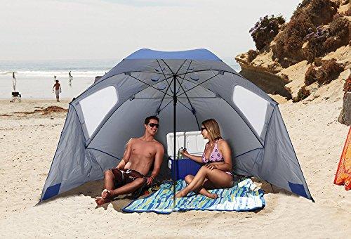 Sport-Brella Vented XL Sun and Rain Umbrella with Carry Bag