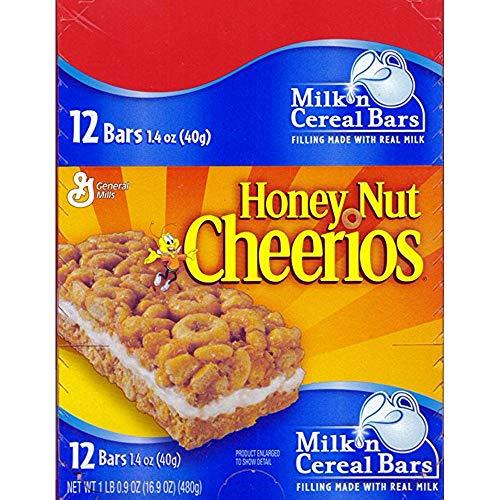 General Mills Honey Nut Cheerios Cereal Bar, 12 Count (GRANOLA/CEREAL/OAT/BRKFAST BAR)