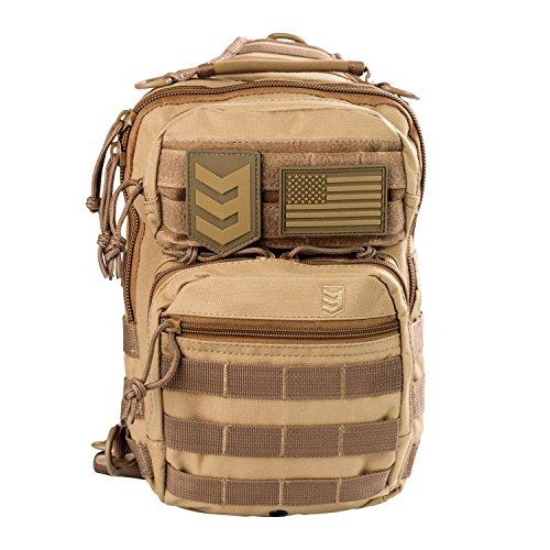 EDC - Petit sac à dos pour CCW, BT1206-COY, Coyote