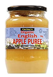 Organic english apple puree Fantastic quality product from a great brand Made just from organically grown jonagold apples