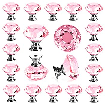 Best pink crystal knob Reviews
