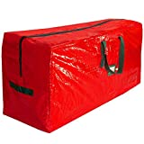 Perfect Fit Christmas Tree Storage Bag - Large Waterproof Storage Bags with Reinforced Handles and Zipper for Artificial Christmas Holiday Tree Up To 9ft Tall - Dust, Moisture, and Insect Protection