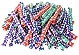 SN Incorp. Chinese Finger Traps in Assorted Colors - Pack of 72 Finger Traps