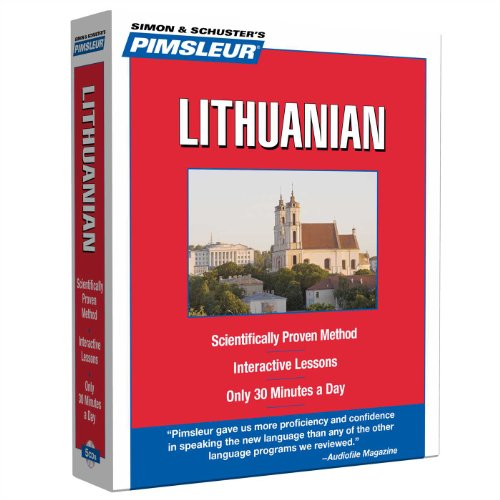 Compare Textbook Prices for Pimsleur Lithuanian Level 1 CD: Learn to Speak and Understand Lithuanian with Pimsleur Language Programs 1 Compact 10 Lessons + Reading Edition ISBN 9780743550642 by Pimsleur