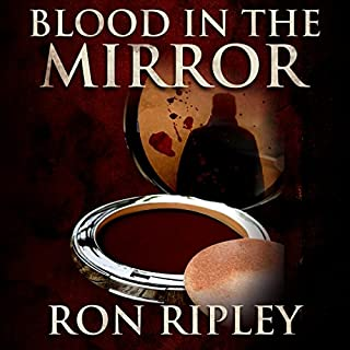 Blood in the Mirror audiobook cover art