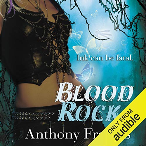Blood Rock Audiobook By Anthony Francis cover art