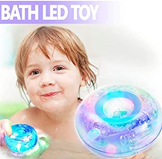 MorganProducts Light - up Toy Waterproof for Kids Floating Safe for Baby Boys and Girls Toddler Toys Prime Water Gift Boat Pool Fun