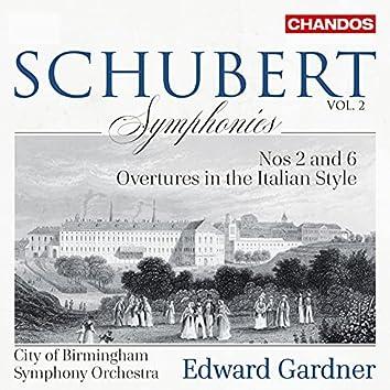 Schubert: Symphonies, Vol. 2