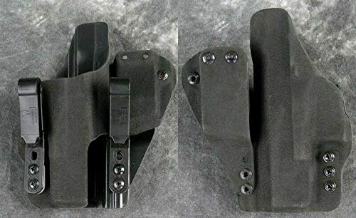 HSP Haley Strategic G-Code Incog Full Guard IWB Tuckable Holster with Magazine Caddy (Gen 1-4 Glock 19 23 32, Right)