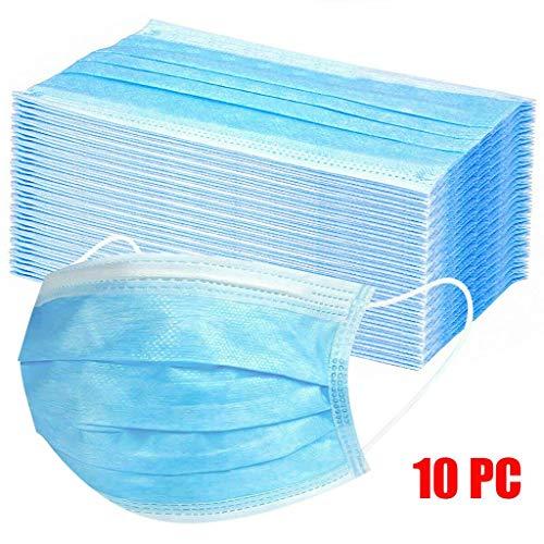 Reasoncool 10 / 200pc Einweg Dental Industrial 3ply Ear Loop Staub Bandana Atem Luft Freizeit Atmungsaktiv Sonnenschutz