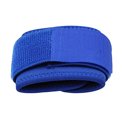 YNuo Pulseras Ajustables Suaves Ayuda de muñeca Brazales for Gym Deporte Baloncesto carpiano Protector Transpirable Venda del Abrigo de la Correa de Seguridad (Color : Blue)