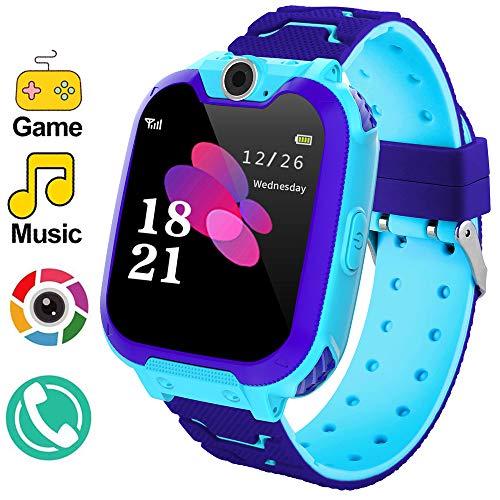 Winnes Reloj Inteligente para Niños, Smartwatch niños con Hacer Llamada, SOS, Música,...
