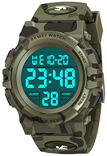 SOKY Relojes Digitales, Juguetes Chicos 5-12 Años Reloj Inteligente Infantil 6 7 8 9 10 Años Niños 5-12 Años Relojes Deportivos Regalos De Cumpleanos 6-15 Años
