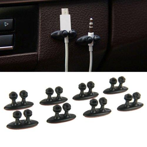 Neuheit 4x Auto / KFZ Kabel Manger zb für Handykabel , Datenkabel , Ladekabel , sonstige Kabel
