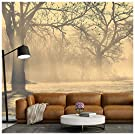 azutura Misty Trees Wall Mural Wallpaper available in 8 Sizes Digital