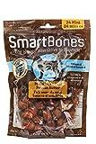 SmartBones Dog Treats (Bones), Peanut Butter Flavour, Rawhide Free, 24 Mini Bones