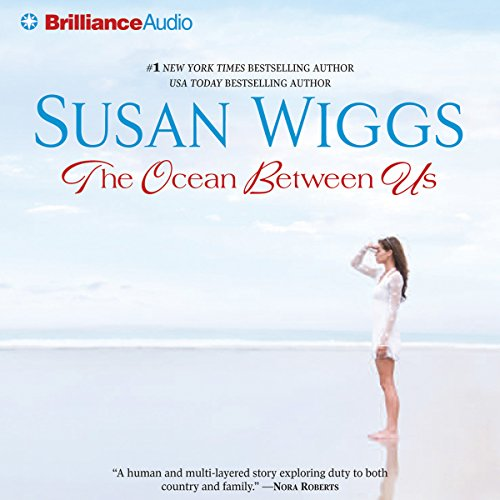 The Ocean Between Us audiobook cover art