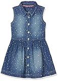 s.Oliver Mädchen Kurz 53.703.82.2632 Kleid, Blau (Blue Denim Non Stretch 55Y3), 116