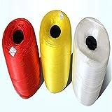 XIANGDONG Bolsa de Malla de Nailon Reutilizable/Bolsa de Compras, Adecuada para Frutas, Verduras, mariscos, nueces, Juguetes, etc. Se Pueden Cortar 10 m (393 Pulgadas) en Diferentes Longitudes