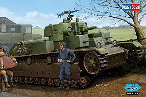 Hobby Boss 83855 – Modélisme Jeu de Soviet T 28 Medium Char Cone Turret