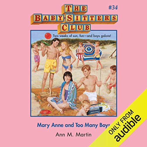 Mary Anne and Too Many Boys cover art