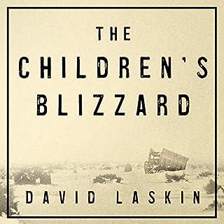 The Children's Blizzard audiobook cover art