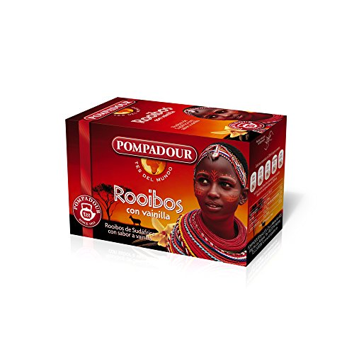 Pompadour 237599 - Tee Rooibos mit Vanille - Pack 20 Beutel