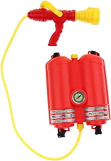 HOMYL Backpack Red Fire Water Toy Water War Game Squirt Toy Pool Beach Bathing Time Playing for Kids/Child Toy