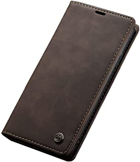 Flip Leather Case For iPhone 11 pro MAX - Dark Brown
