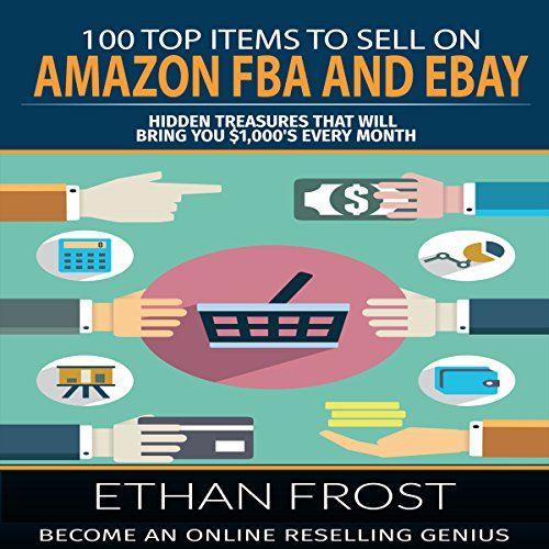 100 Top Items to Sell on Amazon FBA and eBay audiobook cover art