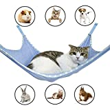 Winnsty Cat Hammock Breathable Mesh Pet Hammock Bed, Under Chair Hammock Cradle Crib for Small Animals (Large)