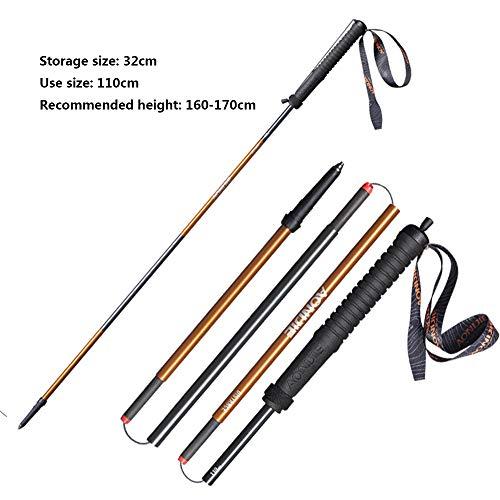 LQY Cross-Country Pole Bastones de Trekking, Off-Road al Aire ...